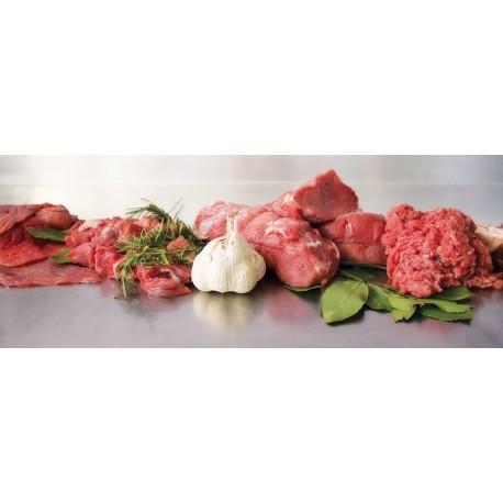 Pacco Famiglia carne fresca di bovino sottovuoto da 10 kg